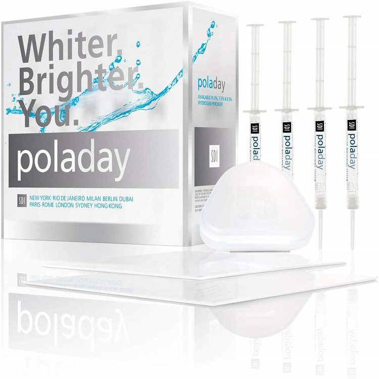 Poladay whitening kit