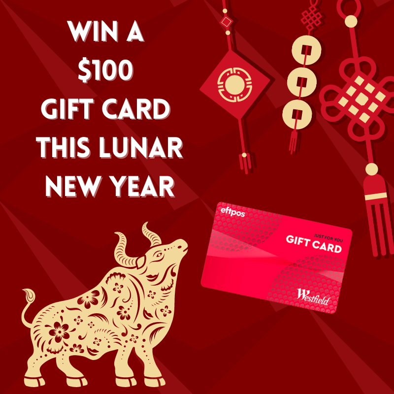 Win a $100 Gift Card this Lunar New Year