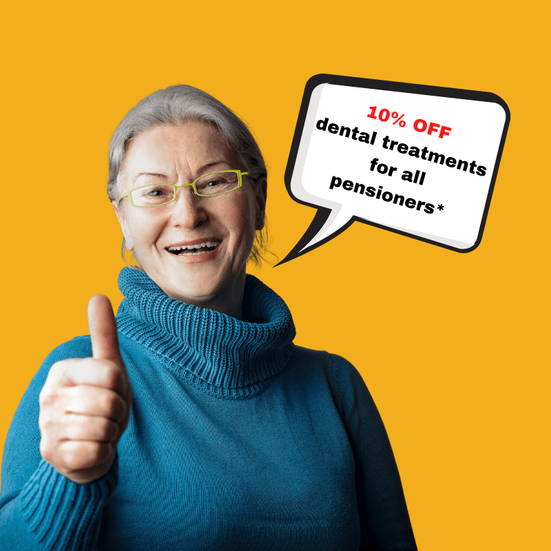 10% off for Pensioners